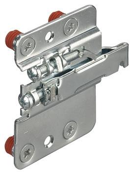Häfele Schrankaufhänger für Unterschrank zum Einpressen Stahl