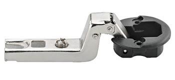 Häfele Topfscharnier Innenanschlag H1428 Metalla Mini Glastürscharnier 95°