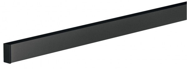 Relingsystem schwarz Wandprofil