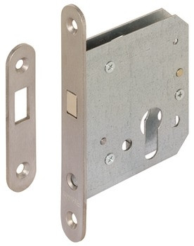 Startec Einsteckschloss für Schiebetüren Zirkelriegel PZ Dornmaß 55 oder 65 mm