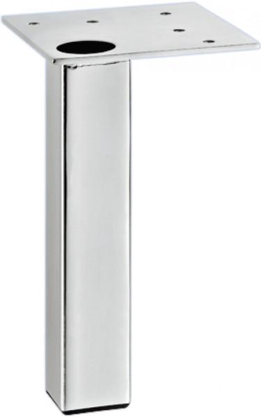 Häfele Möbelfuß H3911 Stahl mit Anschraubplatte Höhe 150 mm