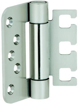Häfele Startec Objekttürband, Größe 100 mm - Türband für Aufnahmeelement VX - für ungefälzte Türen,