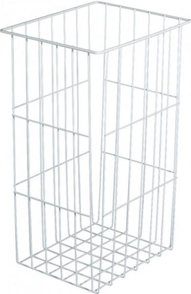 Häfele Gitter-Korb Stahl Wäschekorb weiß Modell H4506