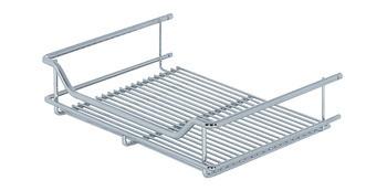 Kesseböhmer Einhängekorb für Gerätehalter-System für Einhängeschiene Stahl verchromt