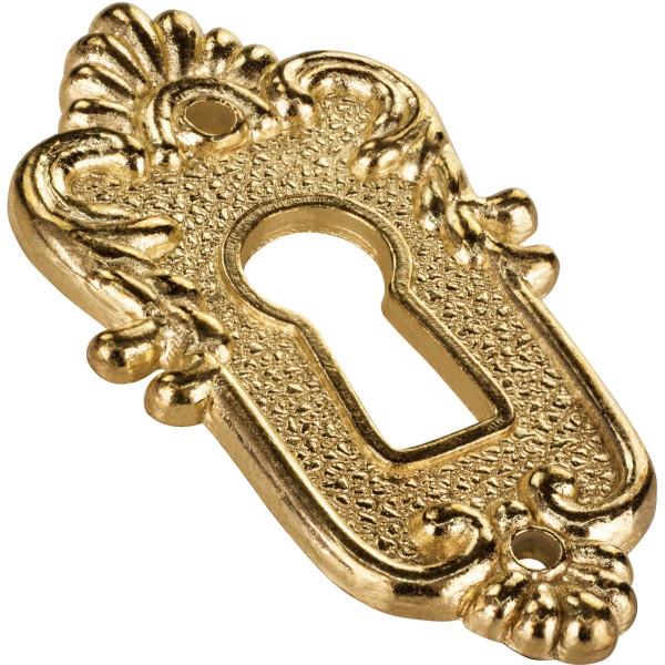 Schlüsselschild LINZ aus Metall vermessingt
