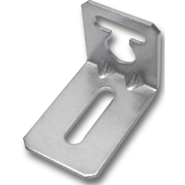Winkel-Schrankaufhänger 51x36x34x2,0 mm Stahl verzinkt