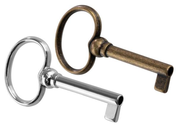 Möbelschlüssel BACH aus Metall Schaftlänge 35 mm