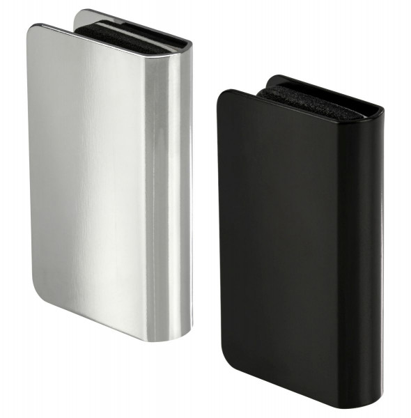 Häfele Gegenstück H6057 für Magnet-Druckverschluss Glastür Höhe 24,5 mm