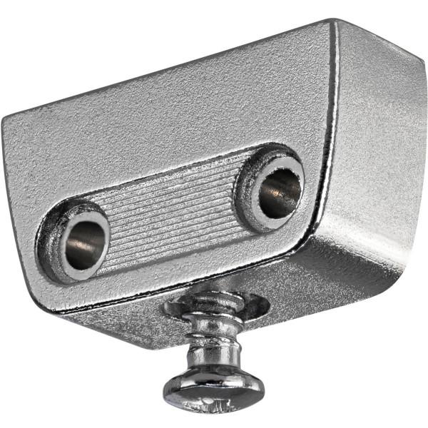 Korpusverbinder aus Stahl mit Rastfunktion