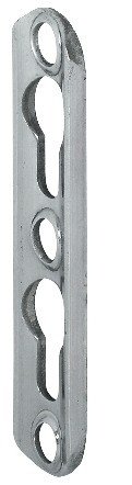 Häfele Einhängebeschlag Linsenkopfplatte Stahl blank mit 2 Langlöchern