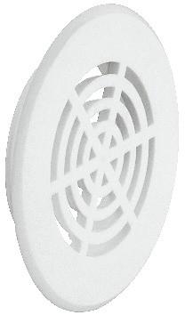 Häfele Lüftungsgitter H3602 rund Ø 50 mm mit Harpunensteg