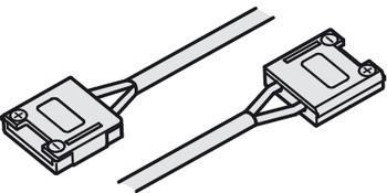 Häfele Verbindungsleitung 24 V multi-weiß mit Clip für 10 mm Loox LED-Band