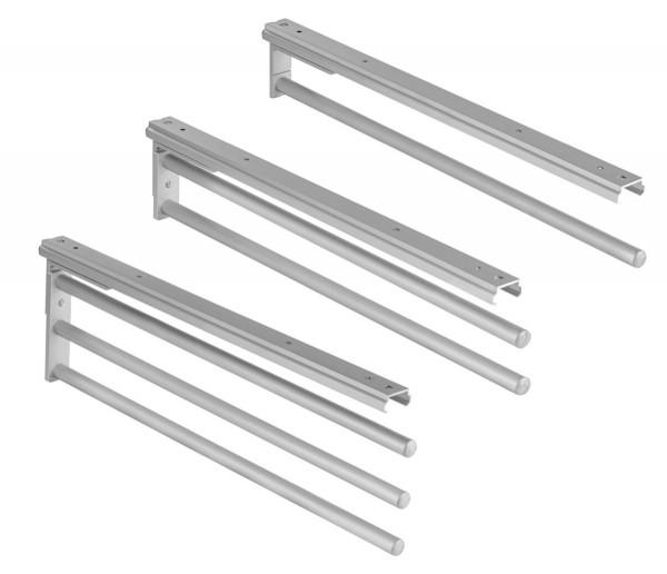 Handtuchhalter H6008 aus Aluminium Silber 90° schwenkbar