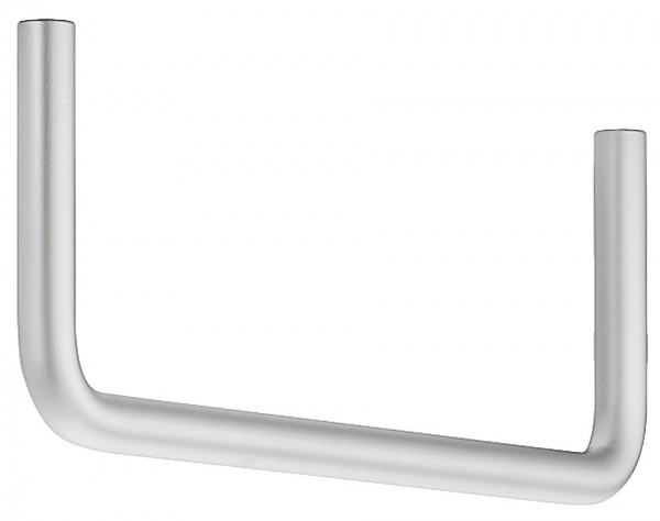 Häfele Garderobenbügel H3829 Garderobenstange Stahl vernickelt oder chrom U-Form