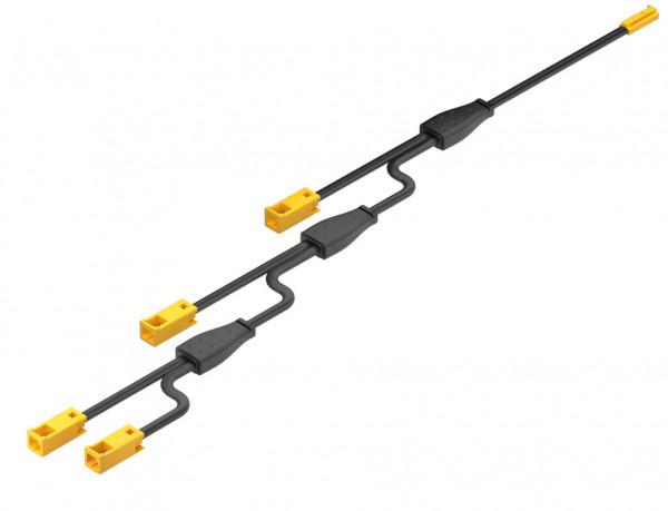 LOOX5 4-fach Verlängerungsleitung 12V monochrom 6500 mm