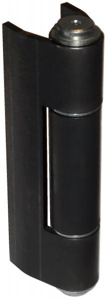 Flattormittelband Stahl blank gekröpft 180 x 84 mm