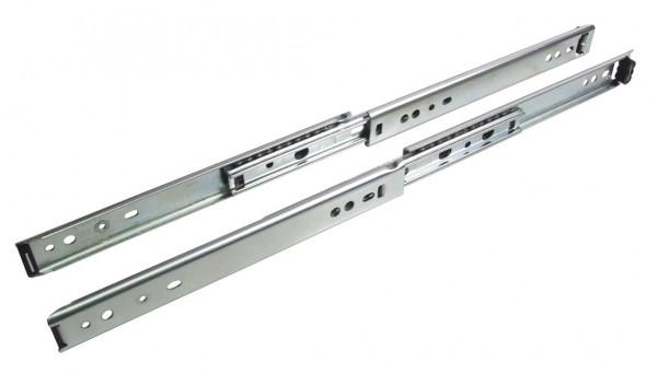 Accuride 2642 Kugelführung Vollauszug Stahl Nutmontage oder seitliche Montage Nutführung Tragkraft b
