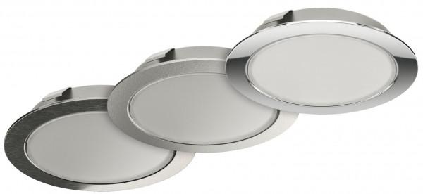 Häfele Ein-/Unterbauleuchte 24 V Loox LED 3039 Spot rund multi-weiß