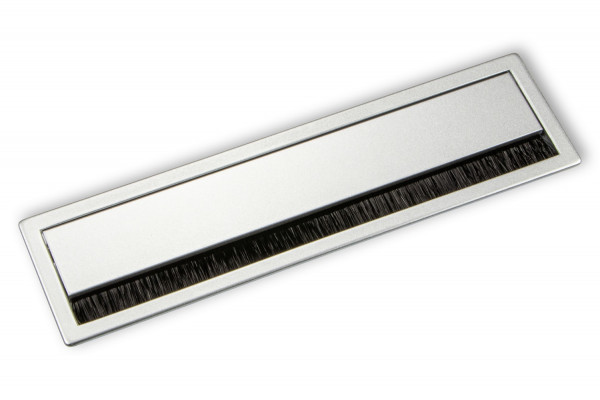 Kabeldurchlass Aluminium mit Bürstendichtung