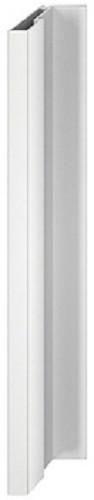 Häfele Griff-Profilleiste H1833 für Holzschiebetüren 2500 mm Aluminium silberfarben