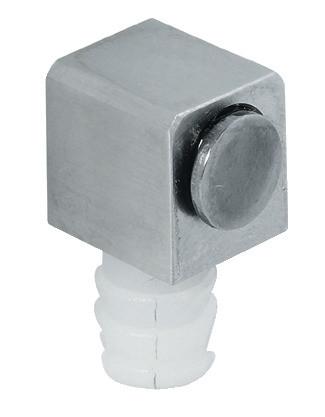 Häfele Magnetverschluss H6055 Edelstahl Haftkraft 1,8 kg zum Einpressen