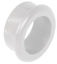 Häfele Grifflochrosette H3607 rund Ø 30 mm Kunststoff weiß