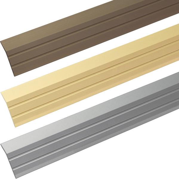 Abschlussprofil aus Aluminium gebogen selbstklebend 30 x 5 mm
