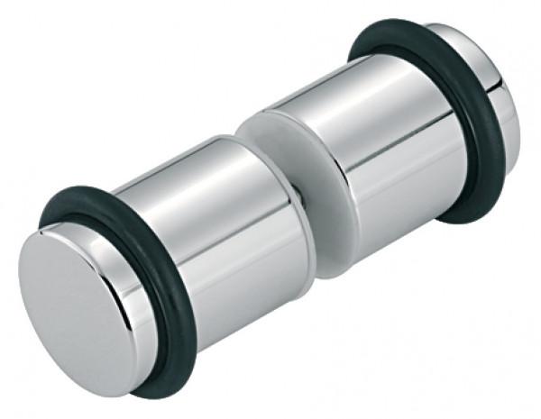 Aquasys Türknopfpaar VITA-D für Duschkabinen messing verchromt poliert