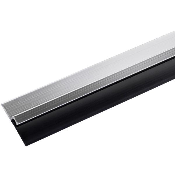 Türdichtung DRAFT aus Aluminium & Gummi zum Kleben 1000 mm