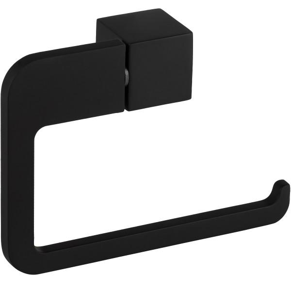Rollenhalter schwarz Toilettenpapierhalter Bad Modell B063