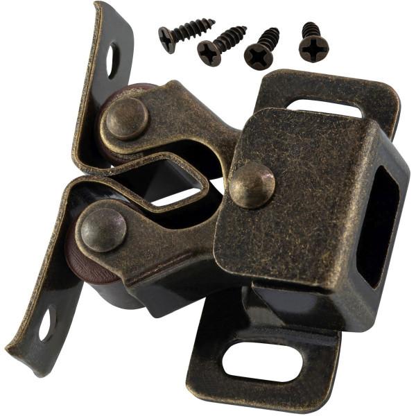 Doppelrollenschnapper aus Stahl brüniert