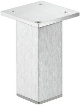Häfele Möbelfuß Modell H3908 Aluminium mit Höheneinstellung