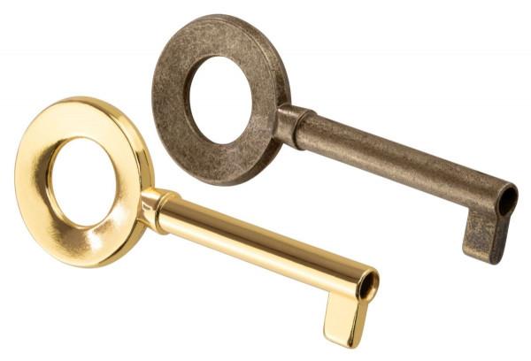 Möbelschlüssel HAYDN aus Metall Schaftlänge 40 mm
