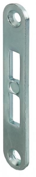 Häfele Schließblech für Einsteckriegel Stahl 90 mm verzinkt