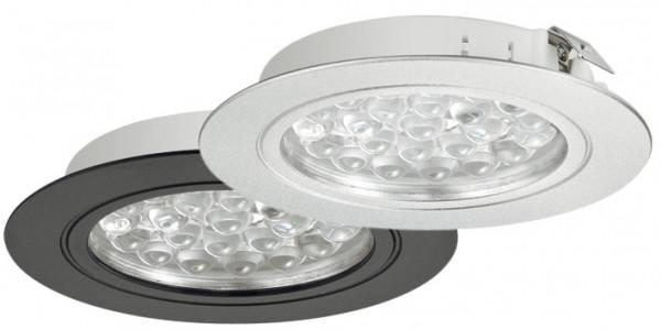 Häfele Ein-/Unterbauleuchte 24 V rund LED 3001 Loox Strahler