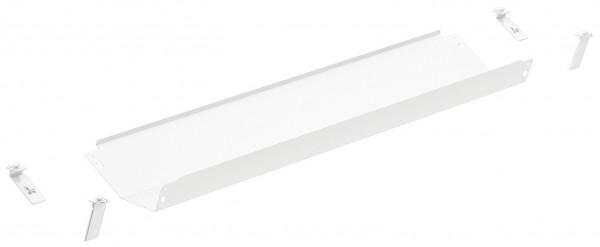 Häfele Kabelkanal Standard Kabelführung für Tische Kabelhalter signalweiß viele Längen