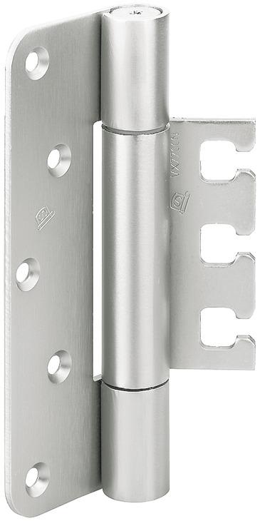 Simonswerk Objekttürband VX 7729/160 - Türband für Aufnahmeelement VX - für ungefälzte Türen 22,5mm