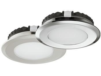 Häfele Einbauleuchte 12V Loox rund LED 2039 geeignet für den Einsatz in Feuchträumen
