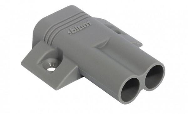 Blum Kreuz-Doppeladapterplatte für Türdämpfer Blumotion