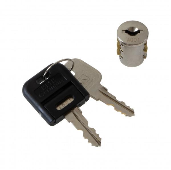 BMB Zylinderkern Innenzylinder für Möbelschlösser mit 2 Schlüssel