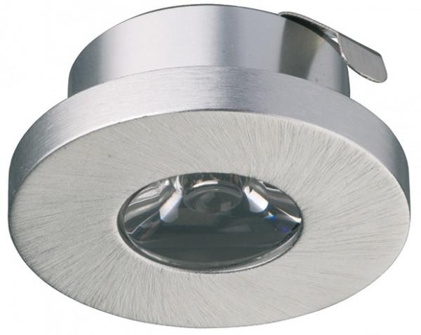 Häfele Einbauleuchte 350 mA Einbauspot LED 4014 Aluminium