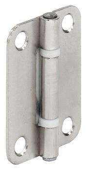 Häfele Aufschraubband H1951 für Faltschiebetüren Größe 40 x 30 mm