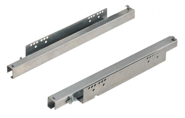 Häfele Unterflurführung Vollauszug VAP30 bis 30 kg Stahl Steckzapfenmontage mit Einzugsdämpfung