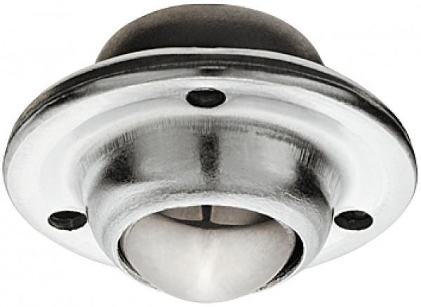 Häfele Einlass-Kugel-Möbelrolle H4806 lenkbar zum Schrauben