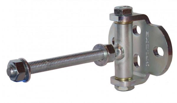 Zauntorband mit breiter Lasche Türangel verstellbar Stahl verzinkt