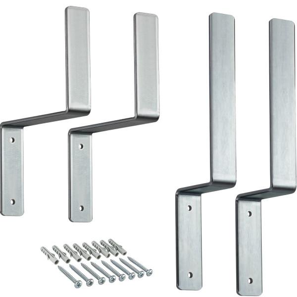 Wandhalterungs-SET aus Stahl für Festzeltgarnitur