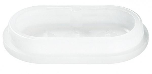 Möbelgleiter oval Kunststoff