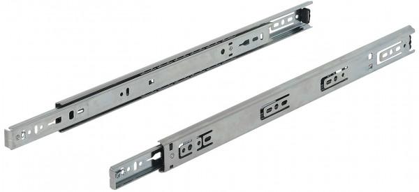 Häfele Schubladenschiene Teilauszug Accuride 2132 Tragkraft bis 35 kg Stahl seitliche Montage