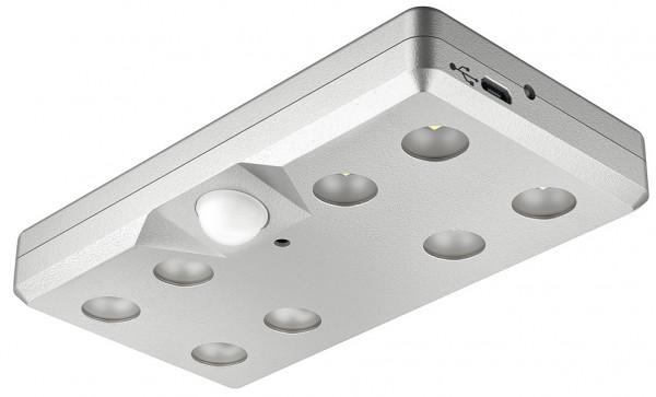 Häfele Akkuleuchte LED 9004 eckig mit Bewegungsmelder