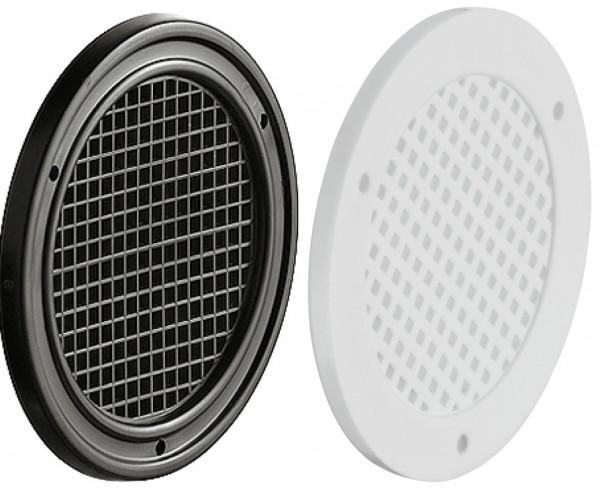Häfele Lüftungsgitter H3609 rund Ø 50 oder 60 mm Kunststoff